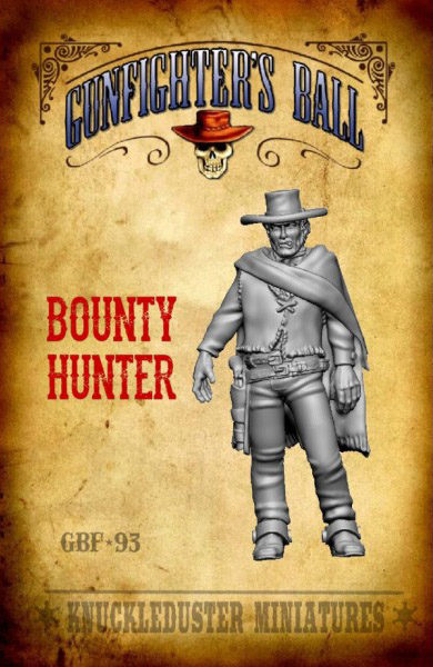 Gunfighter's Ball - Bounty Hunter Miniature