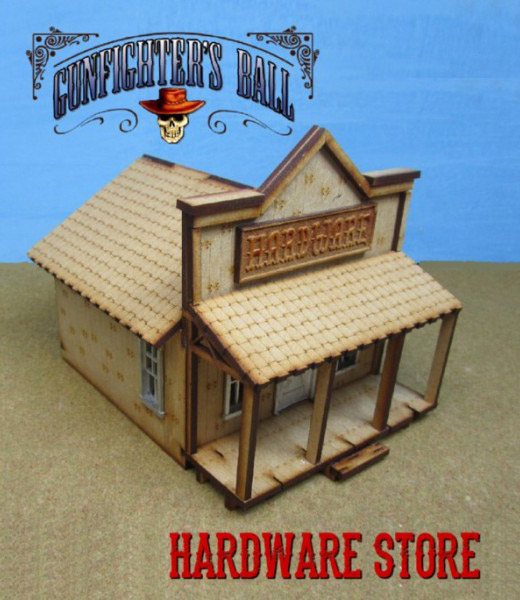 Gunfighter's Ball - Hardware Store MDF Building