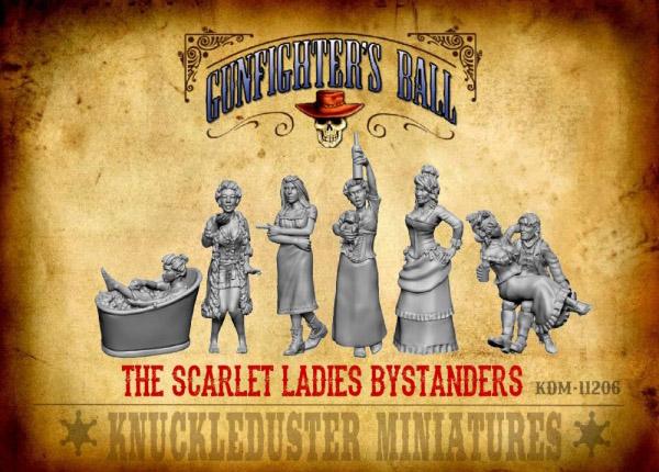 Gunfighter's Ball - Scarlet Ladies (Bystanders)