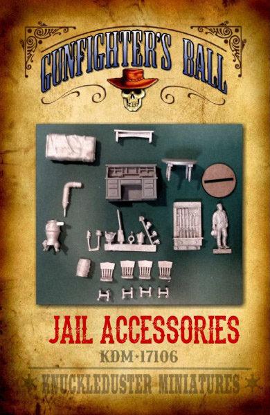 Gunfighter's Ball - Jail Accessories