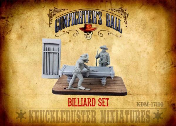 Gunfighter's Ball - Billiard Set Accessory