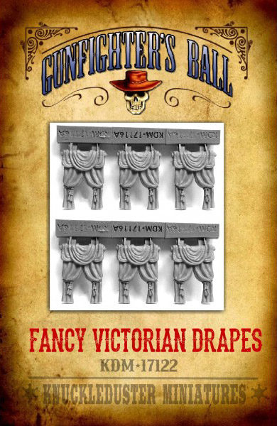 Gunfighter's Ball - Fancy Victorian Drapes Accessory